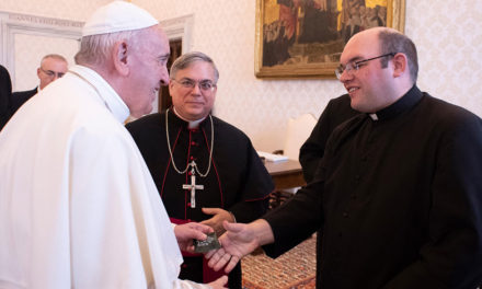 A Give-and-Take With a Down-to-Earth Pope