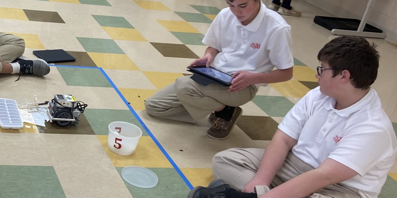 St. Thomas More Shines in Robotics Competition