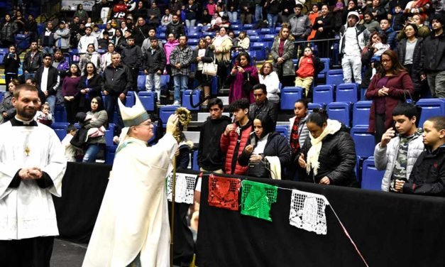 Catholics Celebrate with Splendor Our Lady of Guadalupe