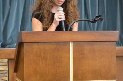Student essays affirm value of human life at every stage