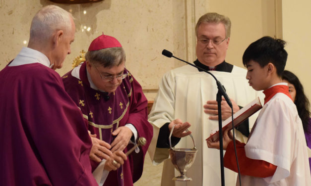 Ash Wednesday Masses Mark the Beginning of Lent