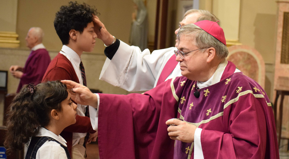 Ash Wednesday Masses Mark the Beginning of Lent