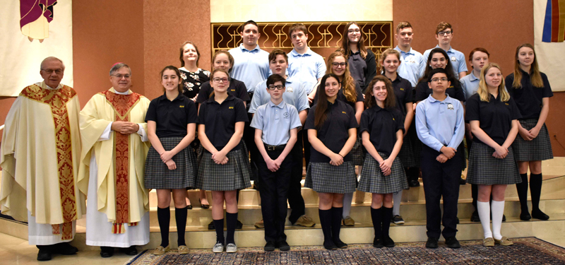 'Thank God for the gift and blessing of Catholic schools'