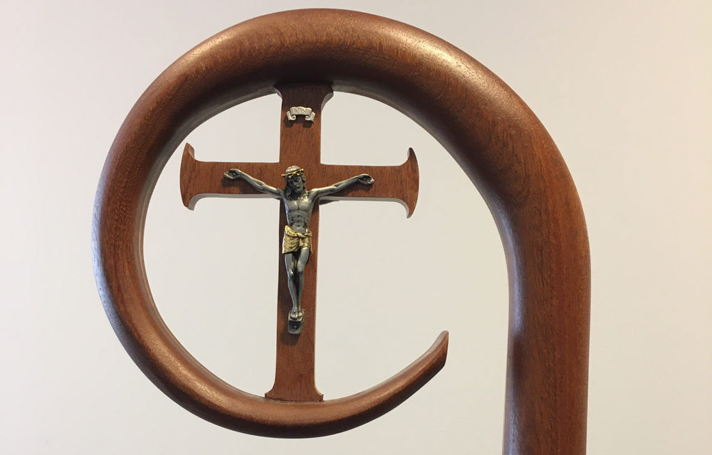 On Church projects, this woodworker mixes sawdust with prayer