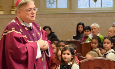 Bishop to Kids: Lent is like cleaning your fridge