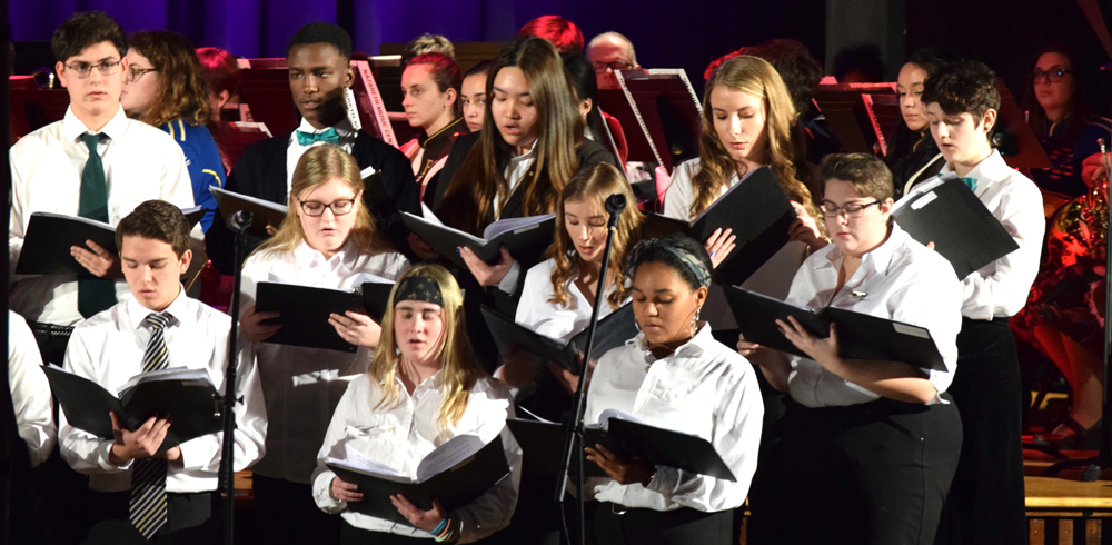 Diocesan Music Festival – musicians from six Diocesan schools