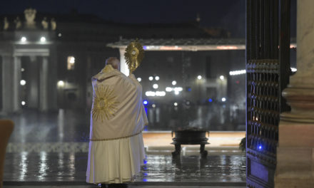 Special Papal Blessing Given Friday