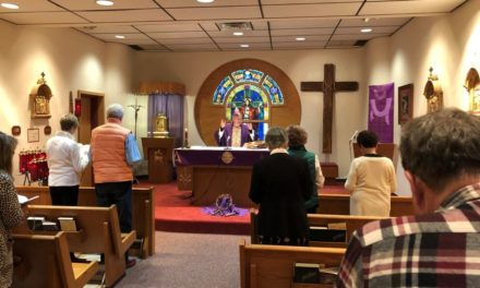 Bishop Prays for Sick and Their Caregivers at Hospital Mass