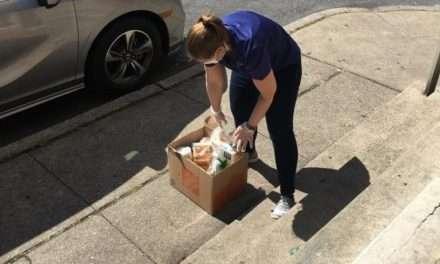 Catholic Charities Finds Creative Way to Distribute Food
