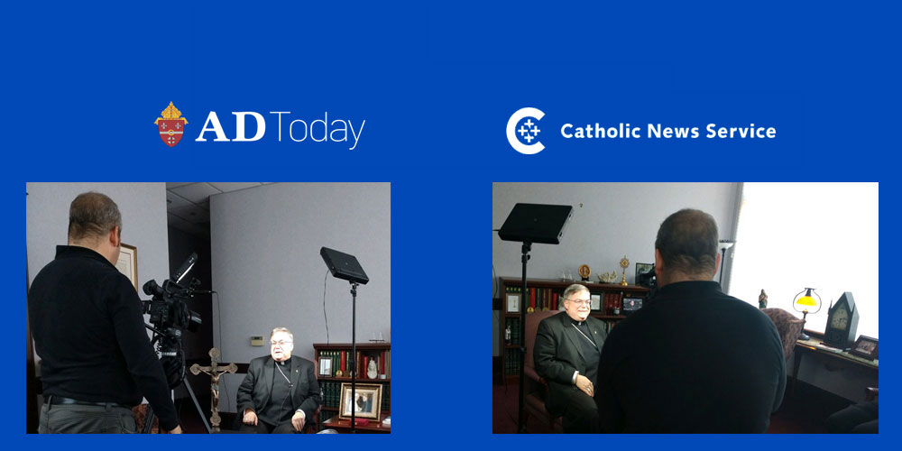 Bishop Schlert, Father Maria to be In National Video about the Eucharist