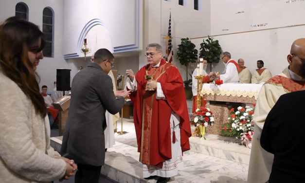 Confirmation Receiving the gifts of the Holy Spirit
