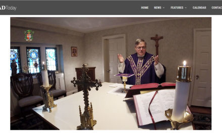 Bishop's Daily Mass to be Broadcast Live Online