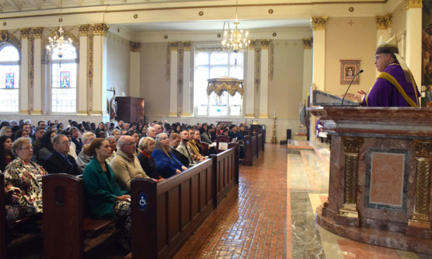 Church Embraces 87 People Preparing to Become Catholic