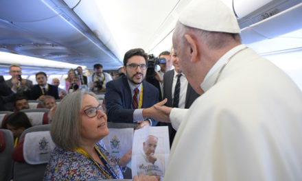An Interview with A Reporter at the Vatican