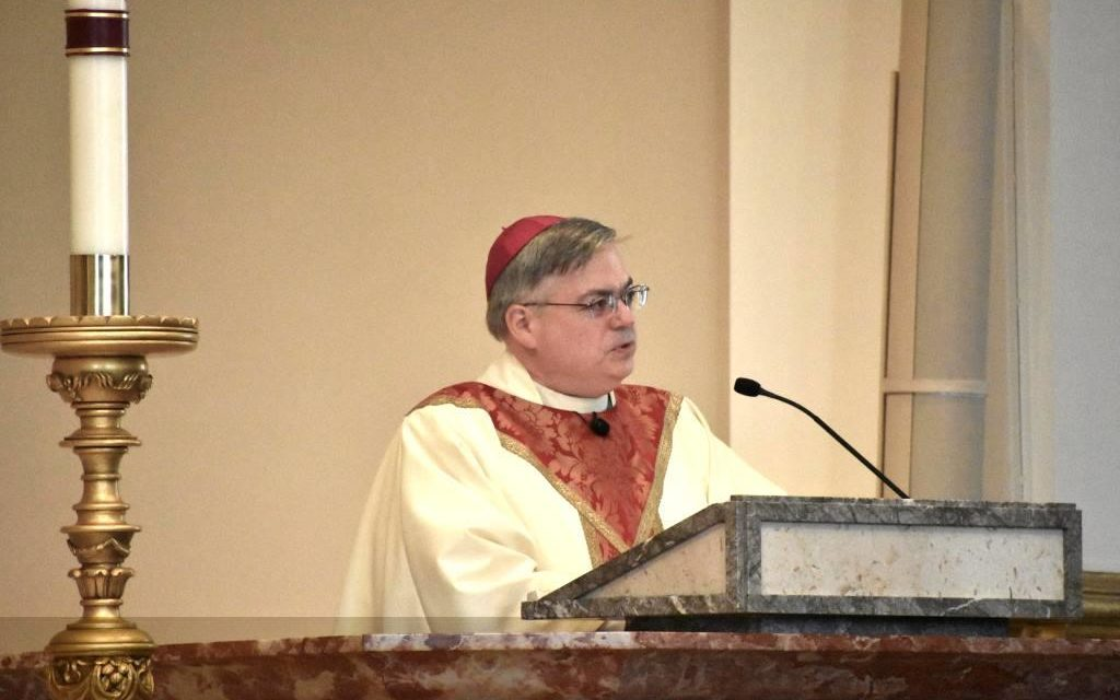 At Chrism Mass, Bishop Thanks Priests, Deacons and Consecrated Religious for Dedicated Service