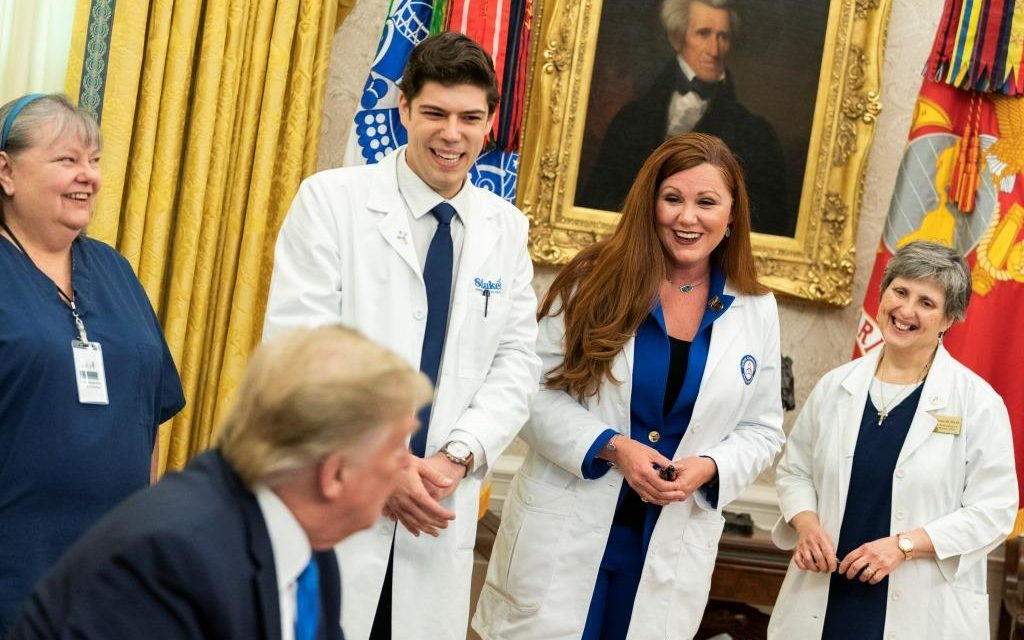 Parish Nurse Grateful for National Nurse Day Visit to White House