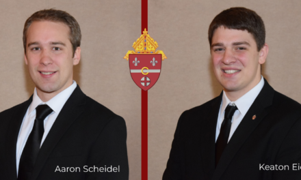 Two Diocese Seminarians Receive Awards at Graduation