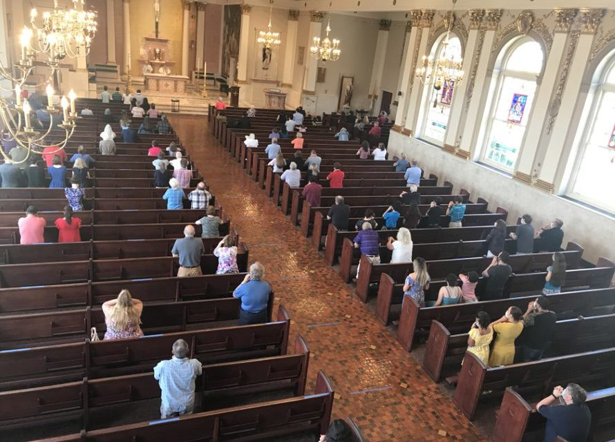 Mass Attendance Increases Steadily as Comfort Level Grows