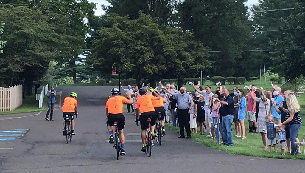 Diocese of Allentown Seminarian was Among those Biking for Vocations