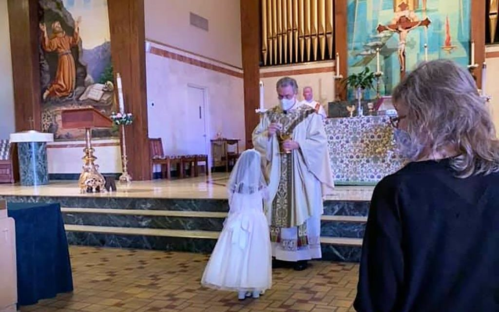 'Finally, Jesus Will Come to You in the Blessed Sacrament'