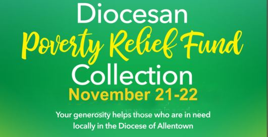 Applications Now Open for Diocese of Allentown's Poverty Relief Fund Grants
