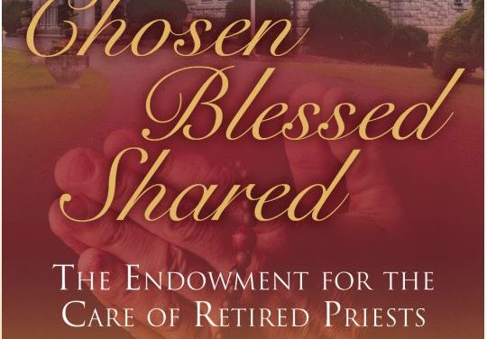 Annual Campaign to Support Care of Retired Priests in Good Standing Now Under Way