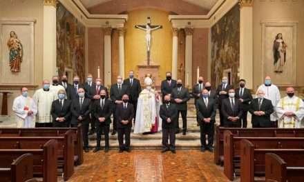 Men Take Next Step Toward Being Deacons