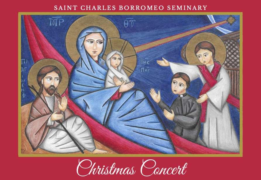 St. Charles Borromeo Seminary Christmas Concert Streamed on the Web