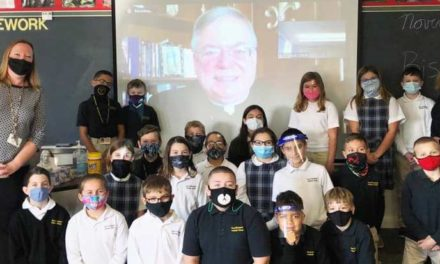 Bishop Thanks Catholic School Personnel for Their Courageous Work Teaching Students During Pandemic