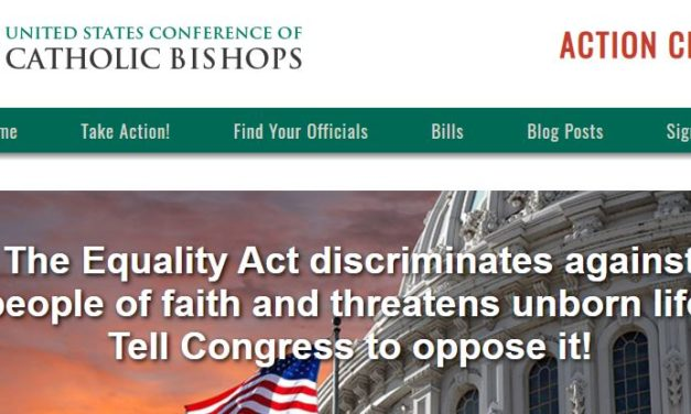 'Equality Act,' a Grave Threat to Religious Liberty, Comes Up For a Vote Soon. Here's How to Take Action