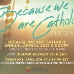 Annual Appeal Kickoff to be Virtual, and You are Invited