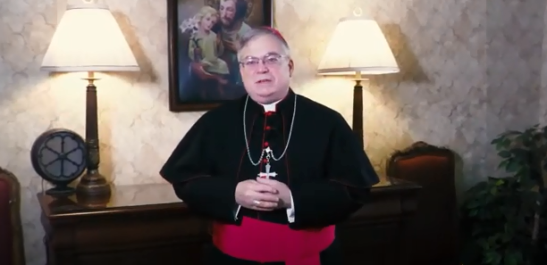 Lent is a Time to Give Up Control, Bishop says in Men's Commission Virtual Event