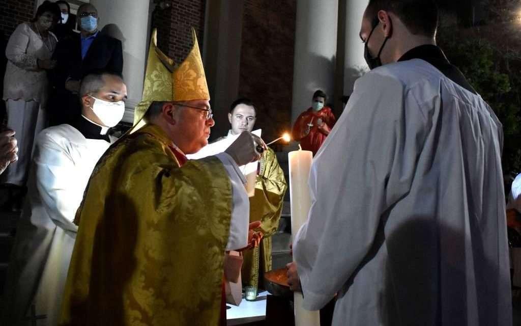 Easter Vigil on Saturday Night Begins in Darkness, and Brings Light