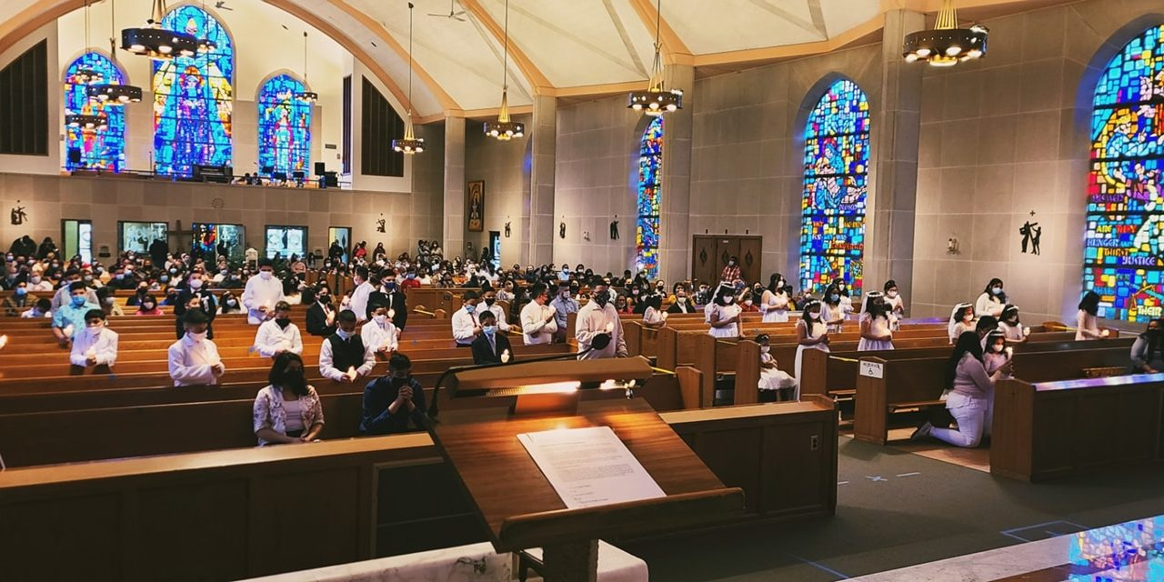 First Holy Communion in Year of the Real Presence