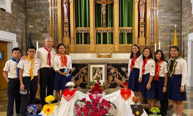 A Family of Volunteers Serving Church and Community