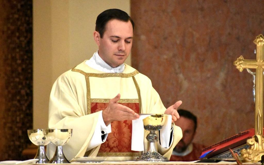 Newest Priest for Diocese to be Ordained Saturday, June 5