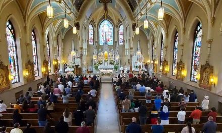 Parishes Will Remove Seating Capacity Restrictions at Mass Starting May 22