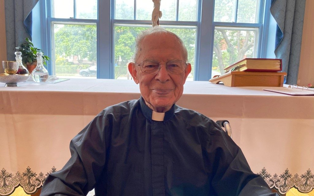 Monsignor Forst, Oldest Priest in Diocese, Dies on Date of His 70th Anniversary of Ordination