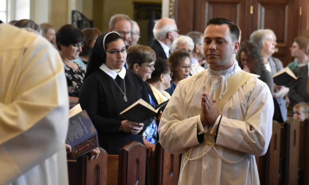 Father Philip J. Maas, Newest Priest of the Diocese, Ordained by Bishop Schlert