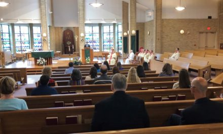Diocese Employees Reaffirm Commitment to Church at 'Commissioning' Mass